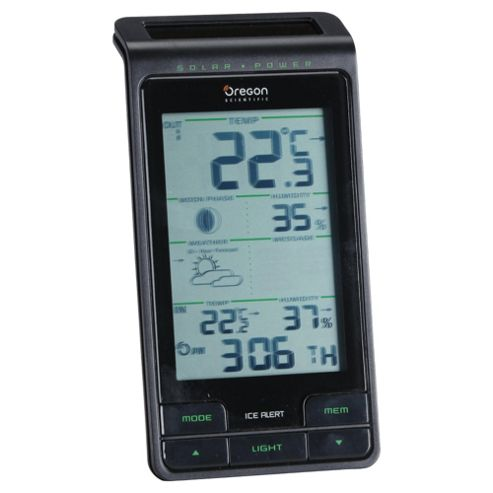 Oregon Scientific BAR808 Solar Digital Weather Station.