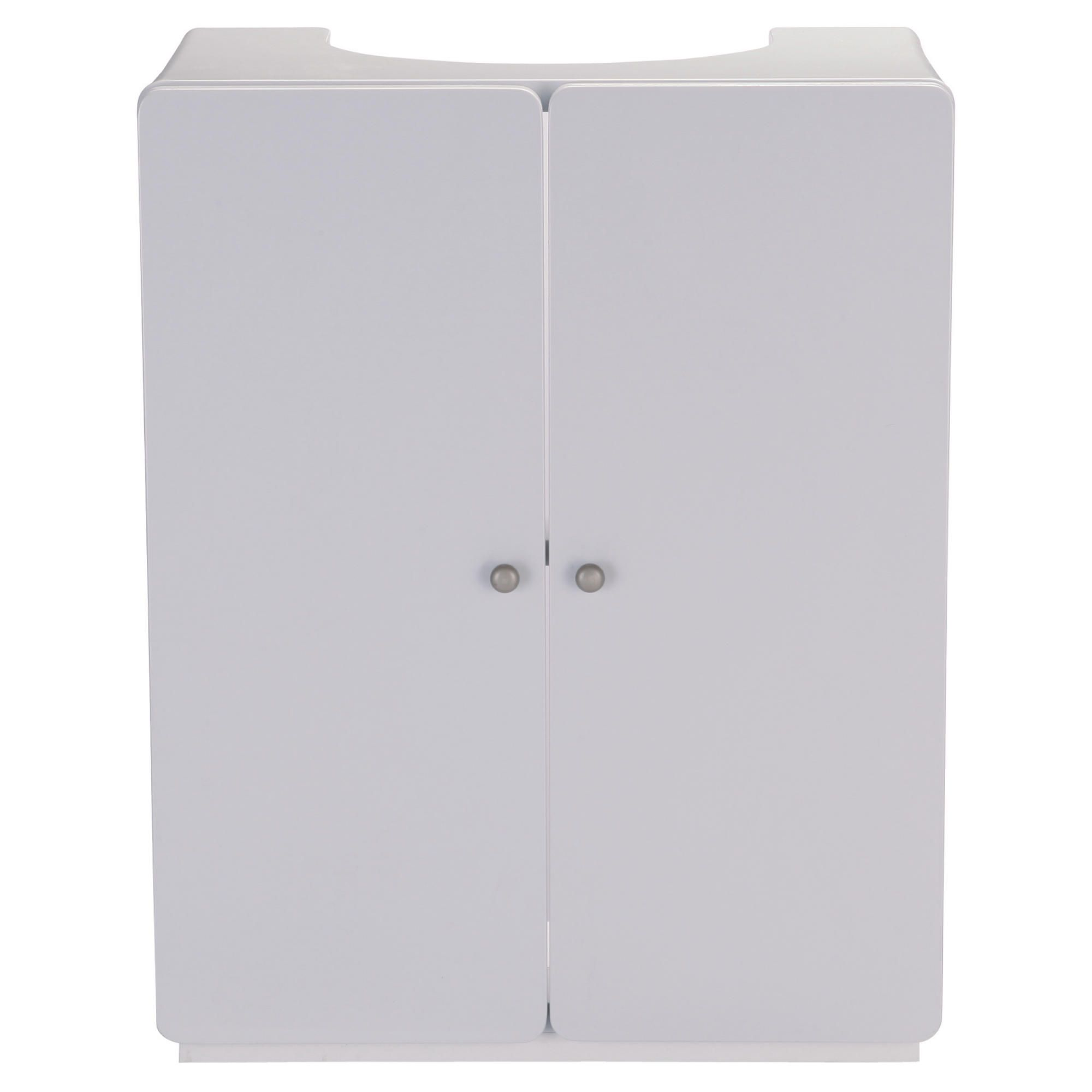 Stockholm White Gloss Under sink cupboard