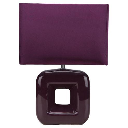 Tesco Lighting Bianca Table lamp Plum