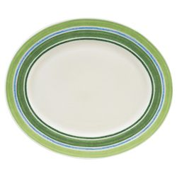 Johnson Bros 35cm Woodland Stripe Oval Platter.