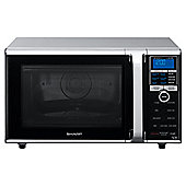 Sharp R890SLM 26L  900W Combi Microwave with Double Grill - Silver