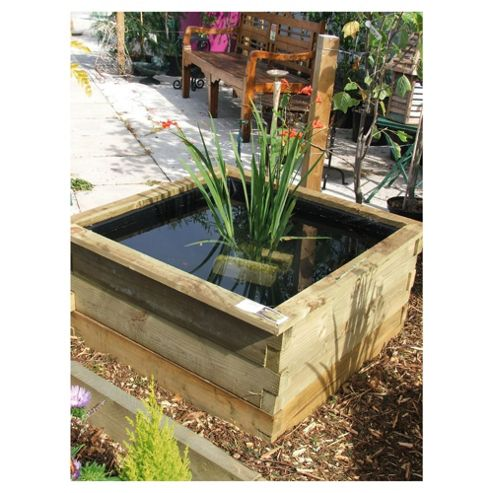 Aquatic Planter with Liner 90x90x45cm