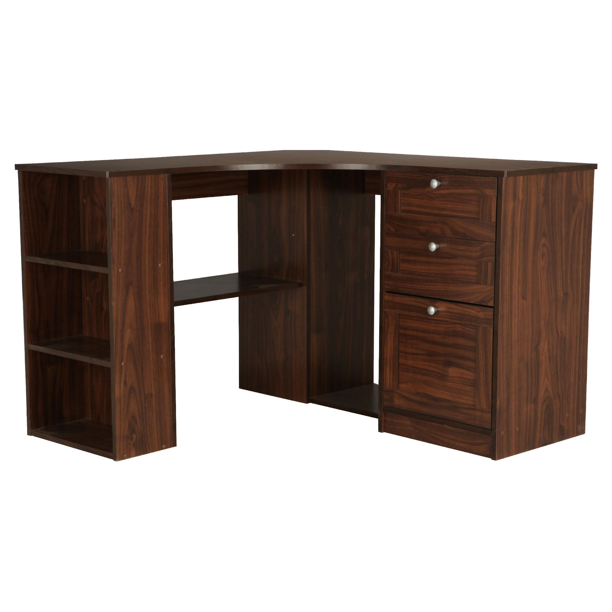 Home Office Corner Desk With Cabi s additionally Maple Office Desk