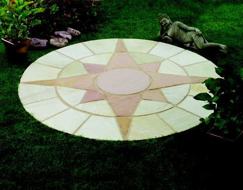 Natural Stone Mini Star Circle Kit