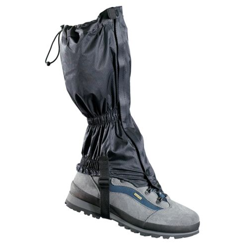 Gelert Ascent RS Men's Waterproof Walking Hiking Gaiters, Black