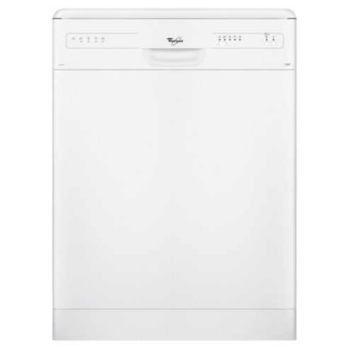 Whirlpool ADP2315 Full Size Dishwasher, A Energy Rating. White
