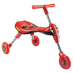 Quick Smart Scuttlebug Ride-On, Red