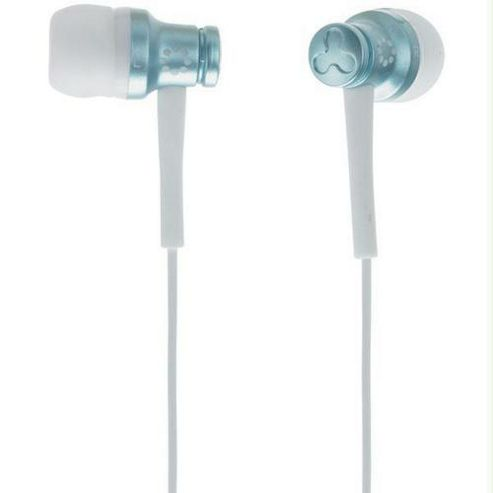 Memorex Ear Canal Earbud iPod & MP3 Earphone Blue EB50