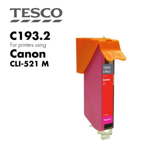 Tesco CLI521 Magenta Printer Ink Cartridge (for Canon CLI-521 Magenta )