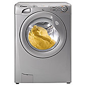 Candy GOF662S Washing Machine, 6kg Wash Load, 1600 RPM Spin, B Energy Rating. Silver