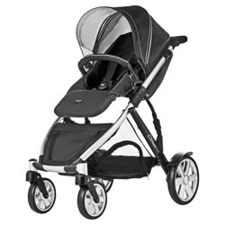 Britax B Dual Neon travel System, Black