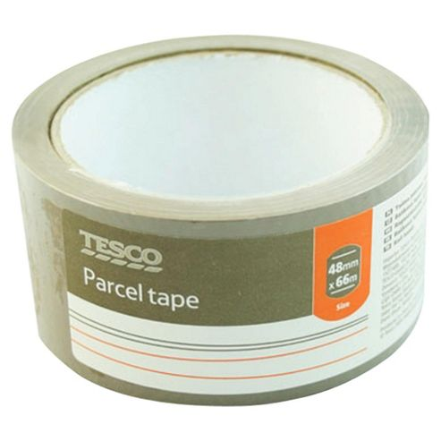 Tesco Parcel Tape 48 x 66m 20 Pack