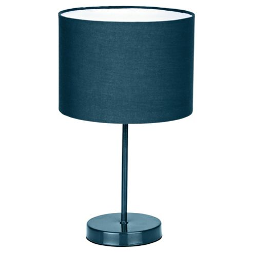 Tesco Lighting Funky Matchstick table lamp Teal