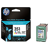 Hewlett-Packard No:351 Inkjet Print Cartridge with Vivera Inks Tricolour