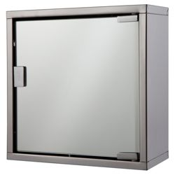 Tesco Mirrored Small Cabinet