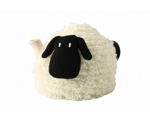 Knitted Sidney Sheep Tea Cosy