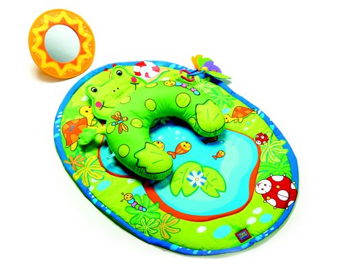 Tiny Love Tummy Time Frog, Baby Playmat