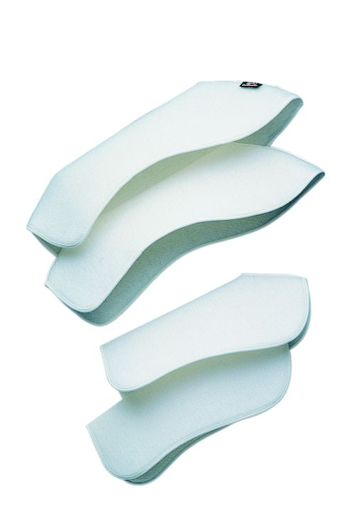 Cottage Craft Shaped Leg Pads white Pony