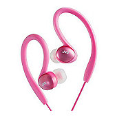JVC HAEBX5PN Splash Proof Sports Headphone - Pink