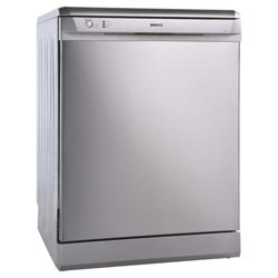 Beko DSFN1530S Fullsize Dishwasher, A Energy Rating. Silver