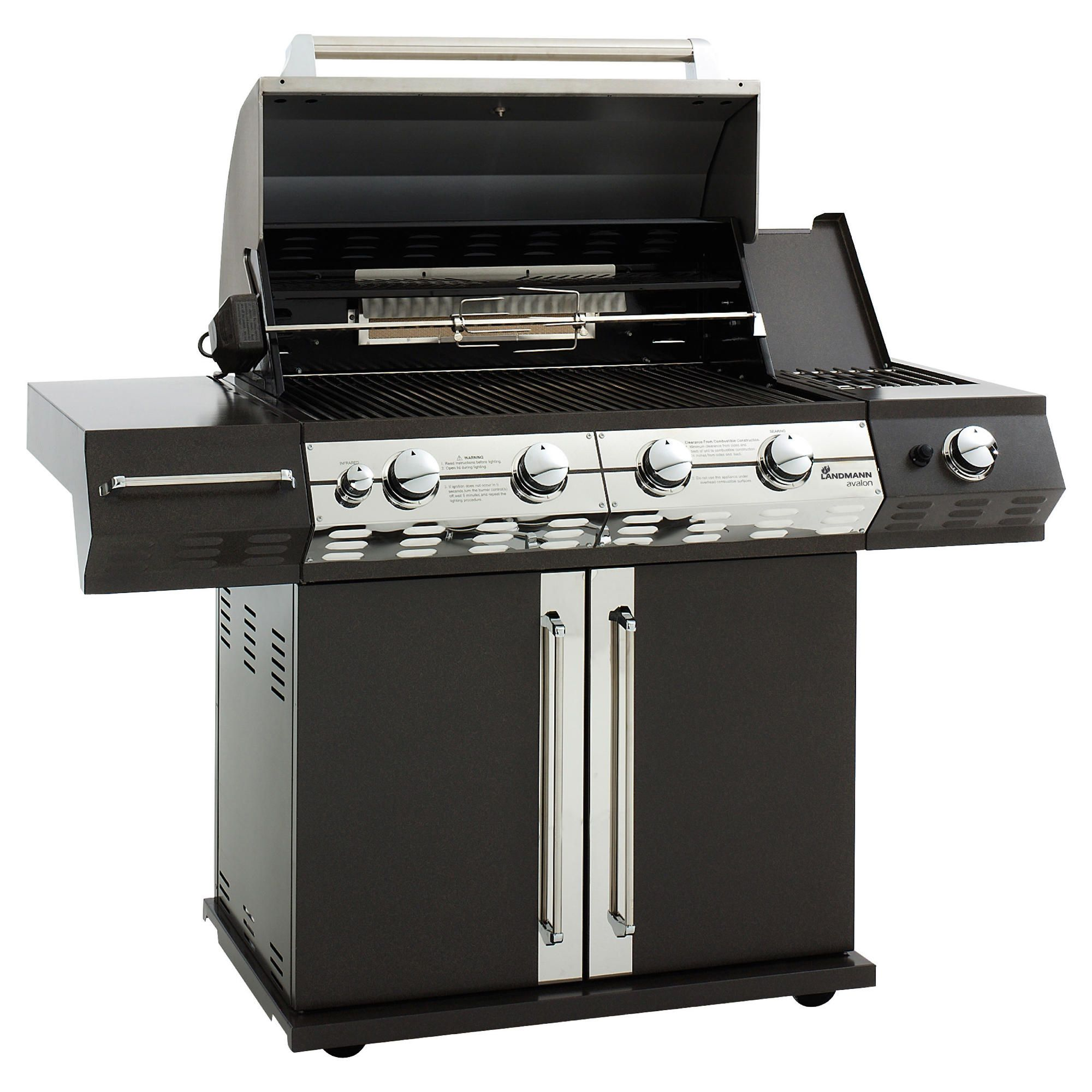 Landmann Avalon 4 Burner Gas BBQ with Rotissere at Tesco Direct