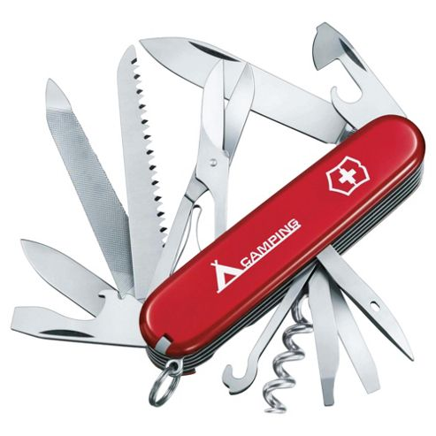 Victorinox Ranger Swiss Army Knife Multi-Tool, Red