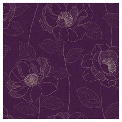 Arthouse Mystique floral plum wallpaper