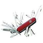 Victorinox SwissChamp Swiss Army Knife Multi-Tool, Red