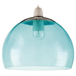 Tesco Lighting Bobble pendant Teal