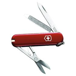 Victorinox Classic Swiss Army Knife Multi-Tool, Red