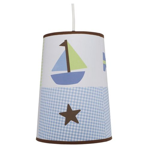 Kids Line Mosaic Transport Ceiling Shade