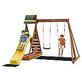 Plum Siamang 2 Wooden Climbing Frame & Centre