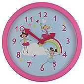 Tesco Clocks Fairies Kids Clock