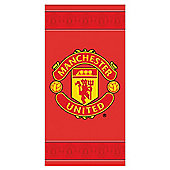 Man United Border Crest Towel