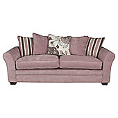Amelie Large Fabric Sofa, Lilac