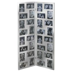 Present Time Photo Frame Wonder Wall Silver