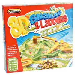 Spears Games 3D Snakes & Ladders