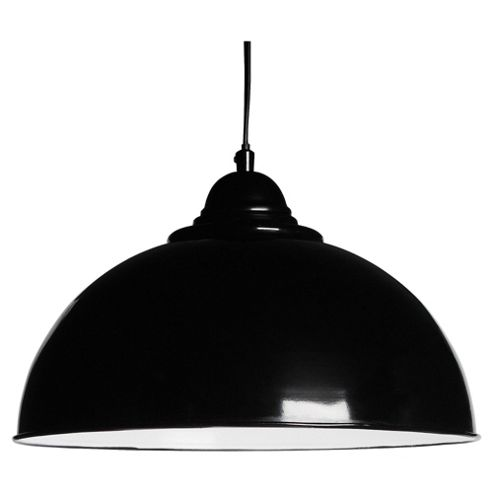 Tesco Lighting Milford Ceiling Fitting, Black