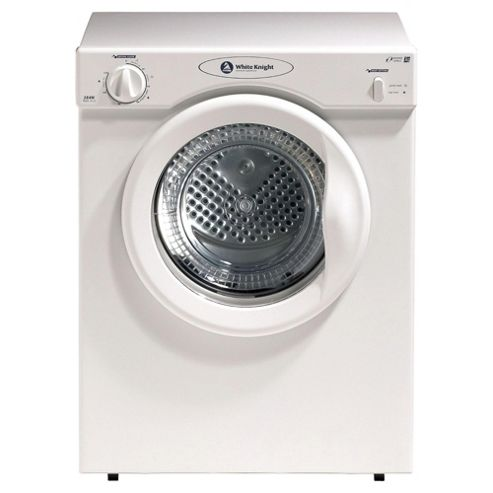 buy white knight 38aw compact tumble dryer 3kg load d. Black Bedroom Furniture Sets. Home Design Ideas