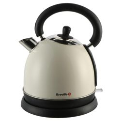 Breville VKJ487 Cream and Stainless Steel Traditional 1.7L Kettle