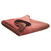 Biederlack Ombre Throw Plum