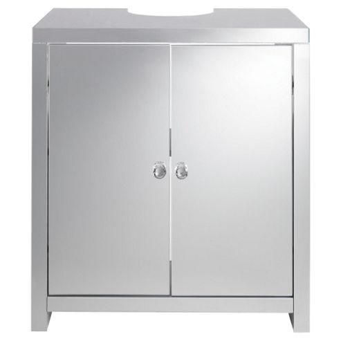 buy tesco mirrored under sink vanity unit from our bathroom standing