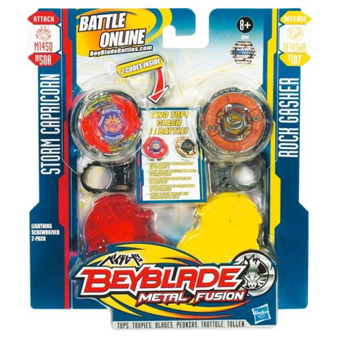Beyblade Lightning Screwdriver Face Off