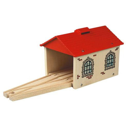 Brio Classic Accessory Engine Shed Wooden Toy
