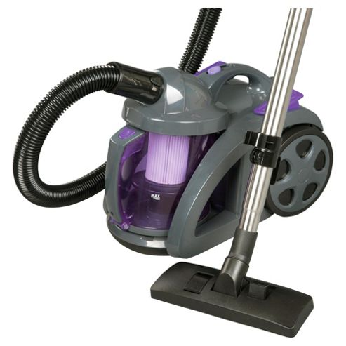 Tesco VCMOP10 1600w Bagless Cylinder Vacuum Cleaner