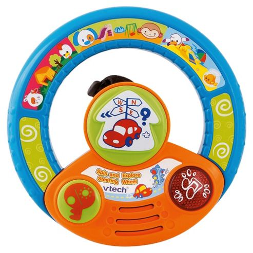 VTech 100803 Spin & Explore Steering Wheel