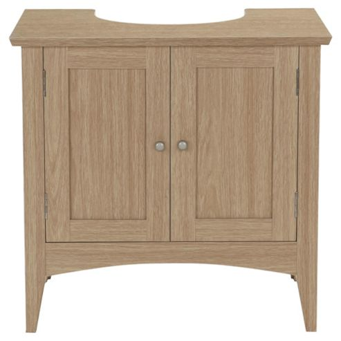 Portico Light Wood Under Sink Cabinet