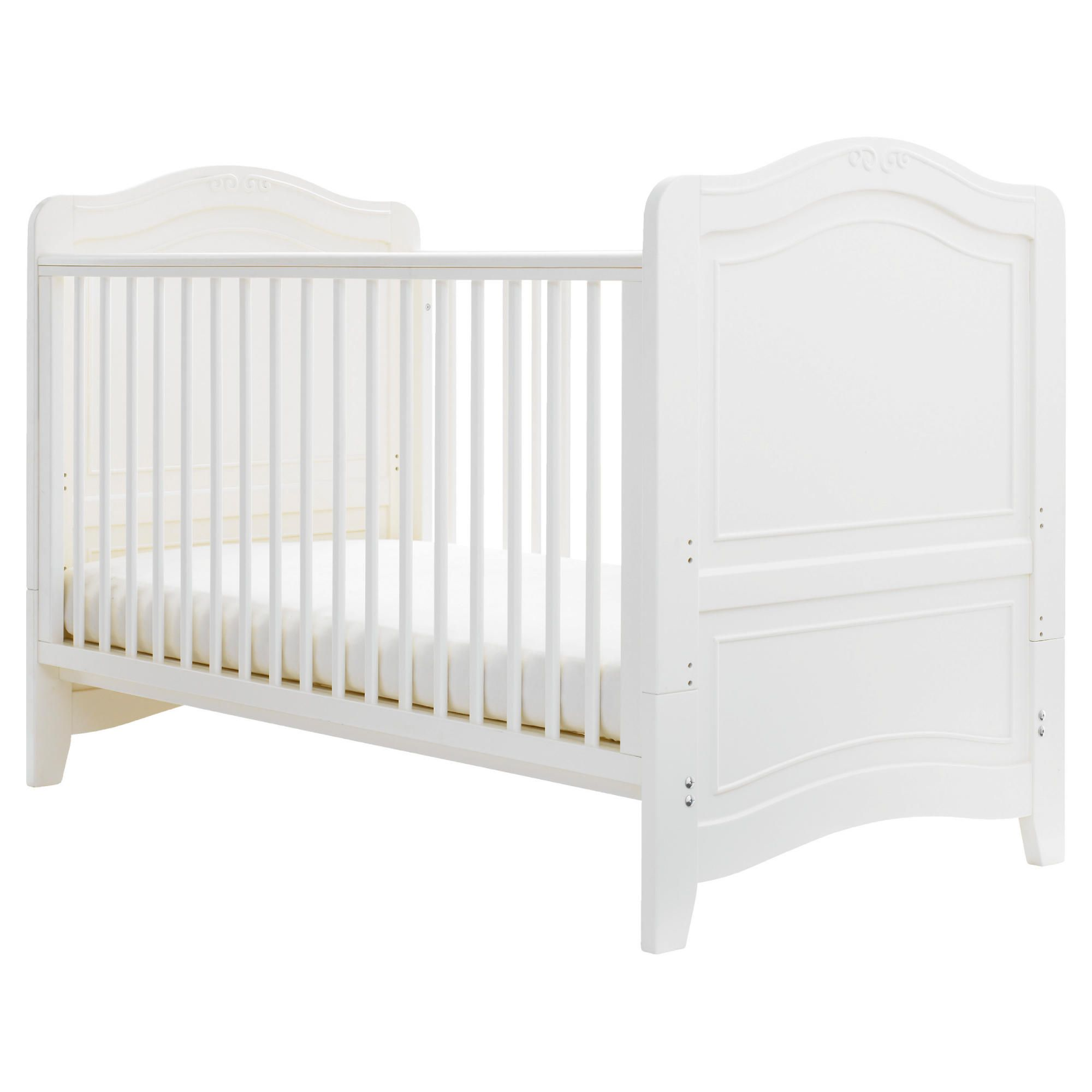 Cosatto Luca Cot Bed in White at Tesco Direct