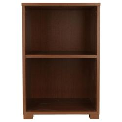 Como High Gloss Bookcase, Walnut