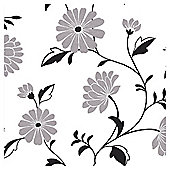 Arthouse Chelsea black & white wallpaper